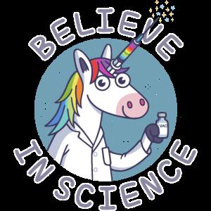 An die Wissenschaft glauben