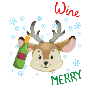 THE MORE WINE THE MORE MERRY | Weihnachts shirt