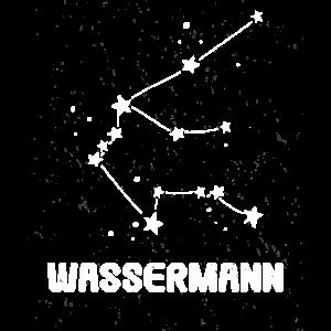 Sternzeichen konstellation Wassermann Aquarius