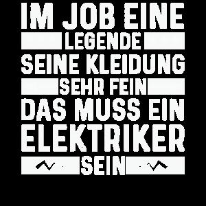 elektriker shirt elektriker meister