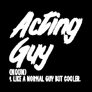 acting guy