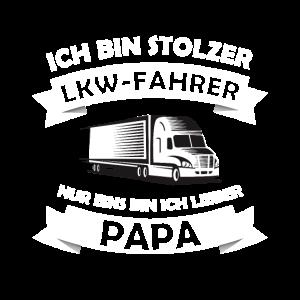 Geburtstagsgeschenk stolzer LKW-Fahrer und Papa