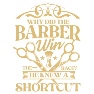 Haarschnitt Abkürzung für einen Barbier