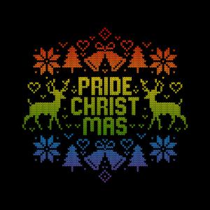 Pride Christmas LGBT Regenbogen Gay Ugly Christmas