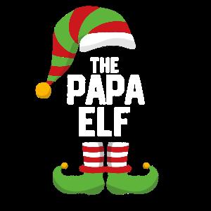 The Papa Elf - Dad Papa Christmas Gift