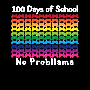 Spieler 100 Days Of School Shirt Kein Probllama Video