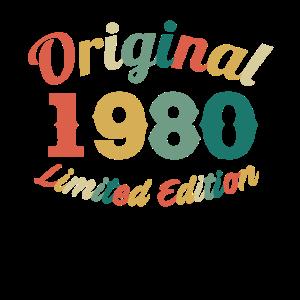 41. Geburtstag 41 Jahre Geschenk Jahrgang 1980