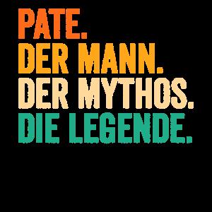 Pate Der Mann Der Mythos Die Legende Geschenkidee