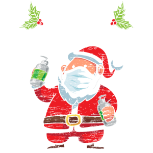 Merry Christ-Mask Funny Xmas Holidays