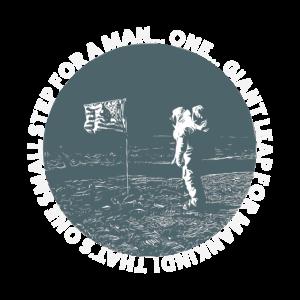 Großer Schritt Mondlandung für Hobbystronomen