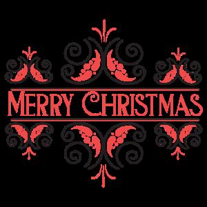Frohe Weihnachten Rot Festliche Frohe Feiertage Schwarz