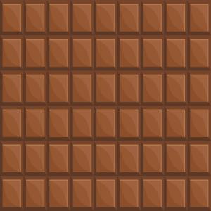 Schokolade Schoko Schokoladentafel Muster