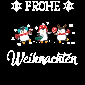 Frohe Weihnachten Pinguine - Weihnachts
