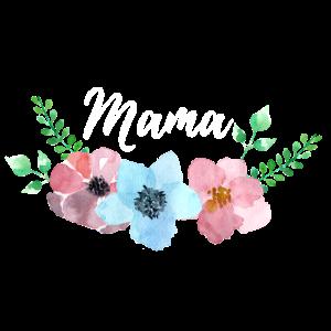 Blumenranke Mama Geschenk zur Geburt Geburtstag