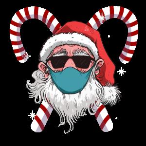 Corona Santa Claus - Weihnachtsmann mit Maske