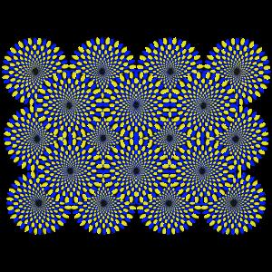 Optische Täuschung Optical illusion Psychedelisch
