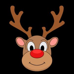Rote Nase Rentier Kinder Weihnachten Geschenk