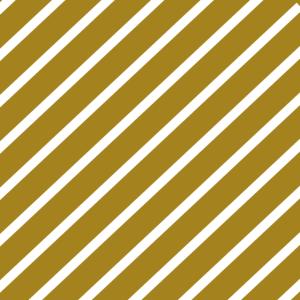Maske gold gestreift