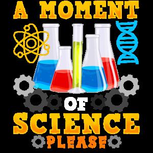 Süß & lustig Ein Moment der Wissenschaft Bitte Wortspiel