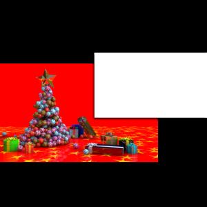 anpassbarer Aufkleber für Weihnachtsgeschenke