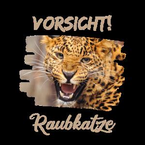 Raubkatze Leopard