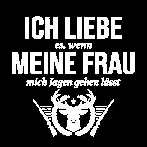 Jäger Waldarbeiter Förster Jagd Hirschgeweih Forst