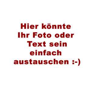 Ihr Text oder Foto ? keinProblem