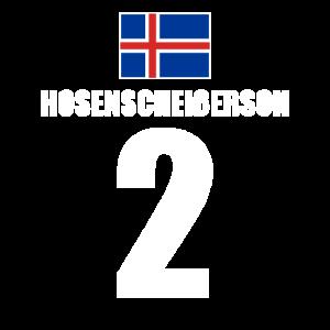 2. Geburtstag 2 Jahre Island Hosenscheißerson