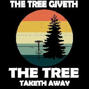 Lustiger Spruch Retro der Baum Shirt Geschenk