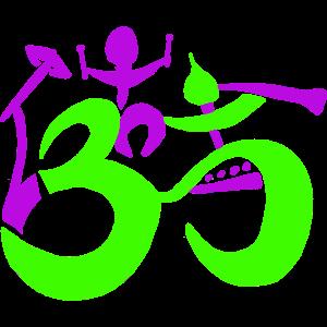 "OM Logo ""Lebendige Menschen"""