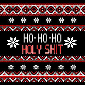 ho ho ho holy, ugly christmas mask