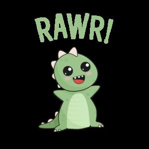Rawr! Netter Dinosaurier