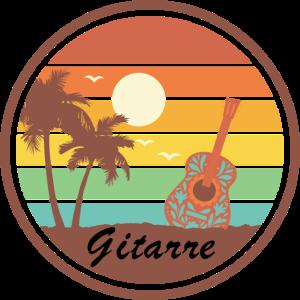Gitarre Vintage Retro