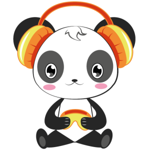 Gaming Panda Computer Konsole Videospiel Geschenk