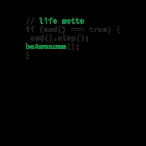 Coder Coding Lebensmotto Programmierer