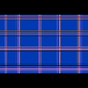 Karo Muster Blau Geschenk Alltagsmaske