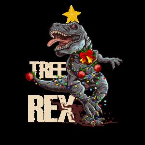 Lustiger Dinosaurierbaum Rex