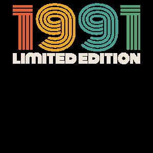 Vintage 1991 30. Geburtstag Geschenk