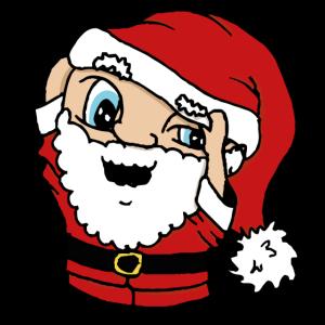 Der fallende Hut des Weihnachtsmanns