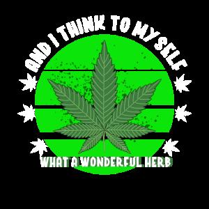 Cannabis Kraut Lustig Geschenkidee