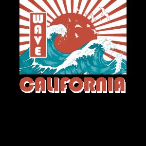 Welle Kalifornien