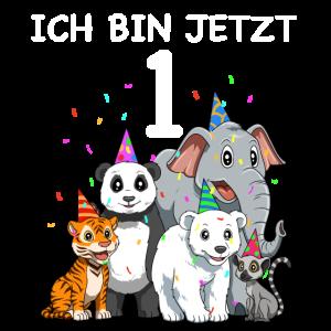 1. Geburtstag Tiere - 1 Jahr Alt Geschenk