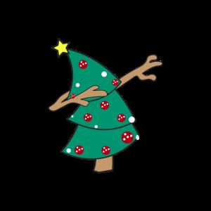 Weihnachten Tannenbaum Dab Dabbing