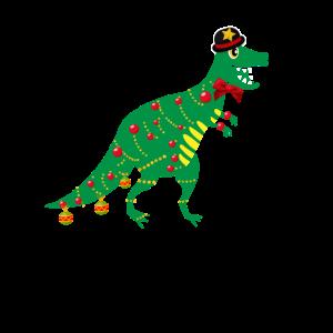 Trex Dinosaurier Weihnachten