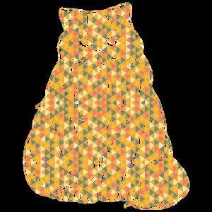 Himalaya-Katze Himalaya-Katze Geometrisch