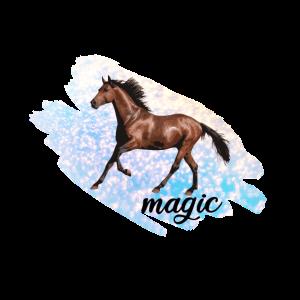 Pferd Magie Glitzer