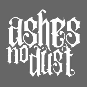 White logo Ashes No Dust