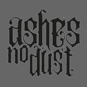 Black logo Ashes No Dust