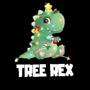 Tree Rex Dino Weihnachtsbaum Christmas Geschenk