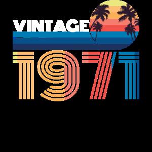 1971 50. Geburtstag Geschenk